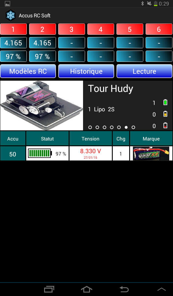 Lipo Manager Screen18