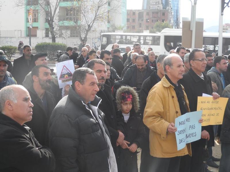 Rassemblement citoyen le samedi 24 janvier 2015 à Bejaia  anti Gaz de Schiste 1136