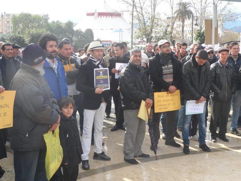 Rassemblement citoyen le samedi 24 janvier 2015 à Bejaia  anti Gaz de Schiste 1137