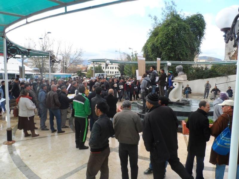 Rassemblement citoyen le samedi 24 janvier 2015 à Bejaia  anti Gaz de Schiste 1140