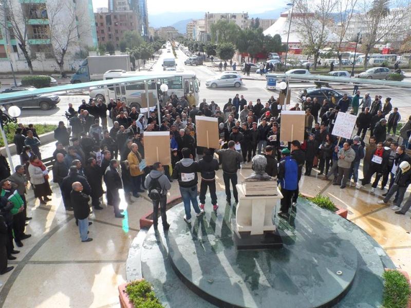 Rassemblement citoyen le samedi 24 janvier 2015 à Bejaia  anti Gaz de Schiste 1141