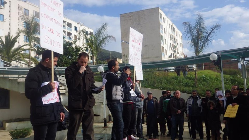 Rassemblement citoyen le samedi 24 janvier 2015 à Bejaia  anti Gaz de Schiste 1149