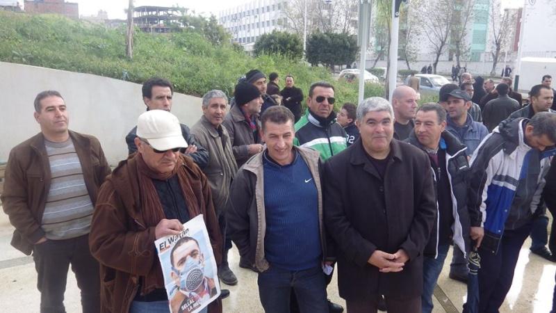 Rassemblement citoyen le samedi 24 janvier 2015 à Bejaia  anti Gaz de Schiste 1151