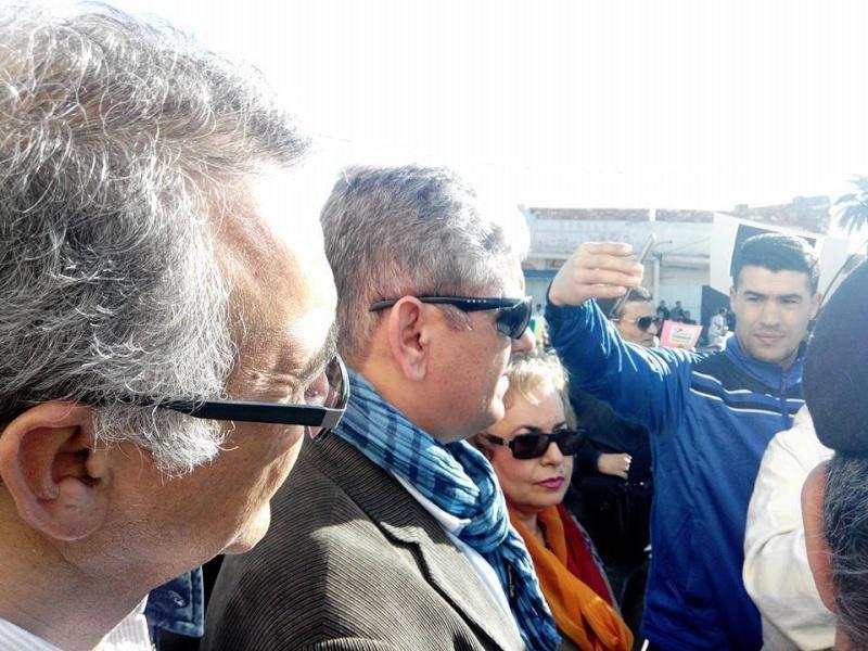 UNE FOULE NOMBREUSE À LA MANIFESTATION ANTI-GAZ DE SCHISTE: Pari réussi à Ouargla  1263
