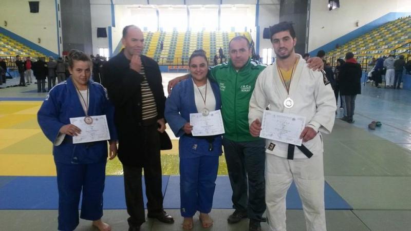 Judo: Championnat national espoir à Oran(Arzew) fevrier 2015 Jmca10