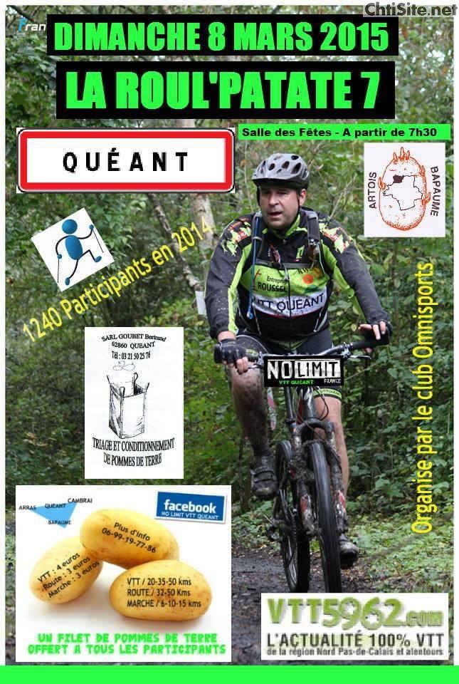 La Roul'patate, Quéant (62) 08/03/2015 Affich12