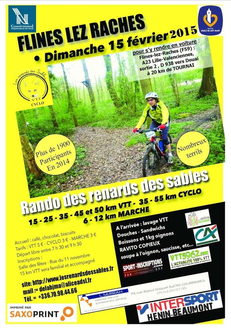 RENARDS des SABLES à Flines-lez-Raches (59), le dimanche 15 février 2015 F201510