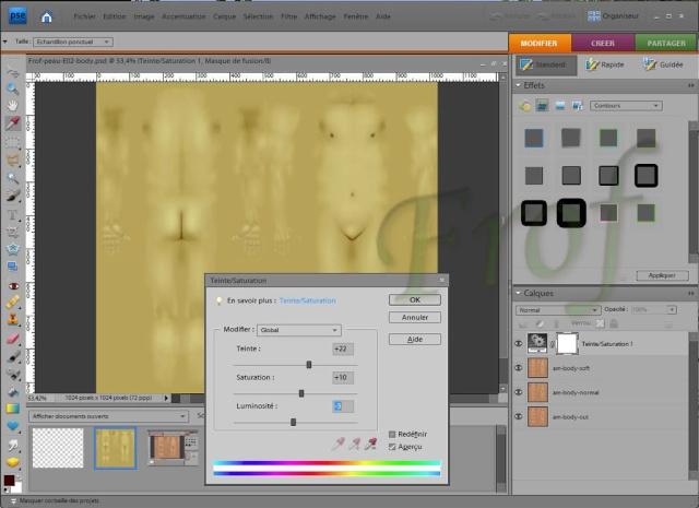 [Apprenti] Créer une couleur de peau personnalisée Tutopo39