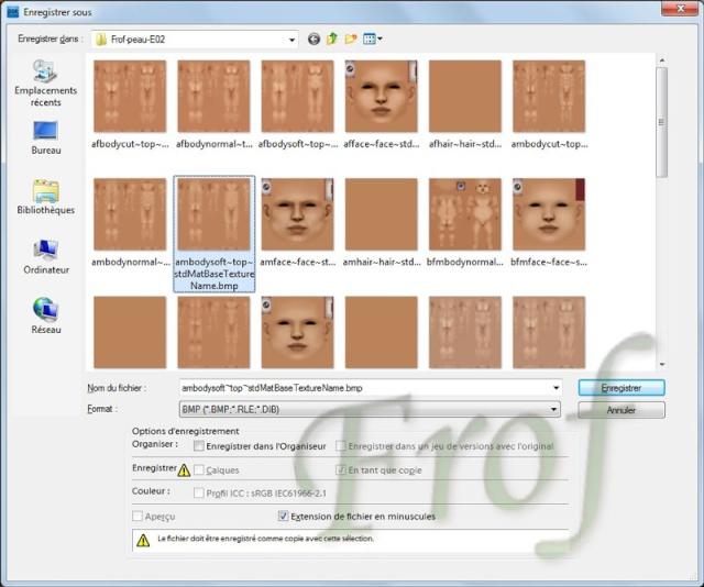 [Apprenti] Créer une couleur de peau personnalisée Tutopo41