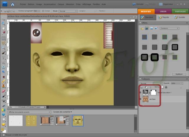 [Apprenti] Créer une couleur de peau personnalisée Tutopo45