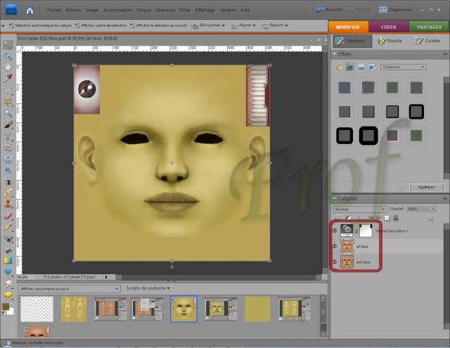 [Apprenti] Créer une couleur de peau personnalisée Tutopo56