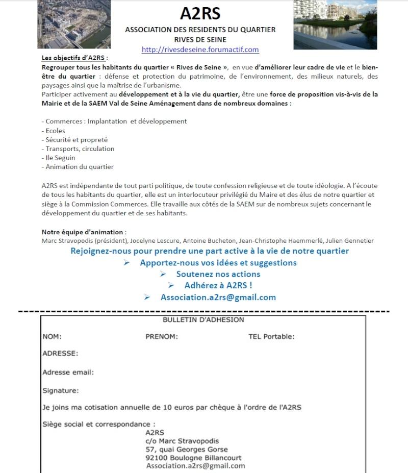 Association des résidents du quartier rives de seine (A2RS) Adhasi11