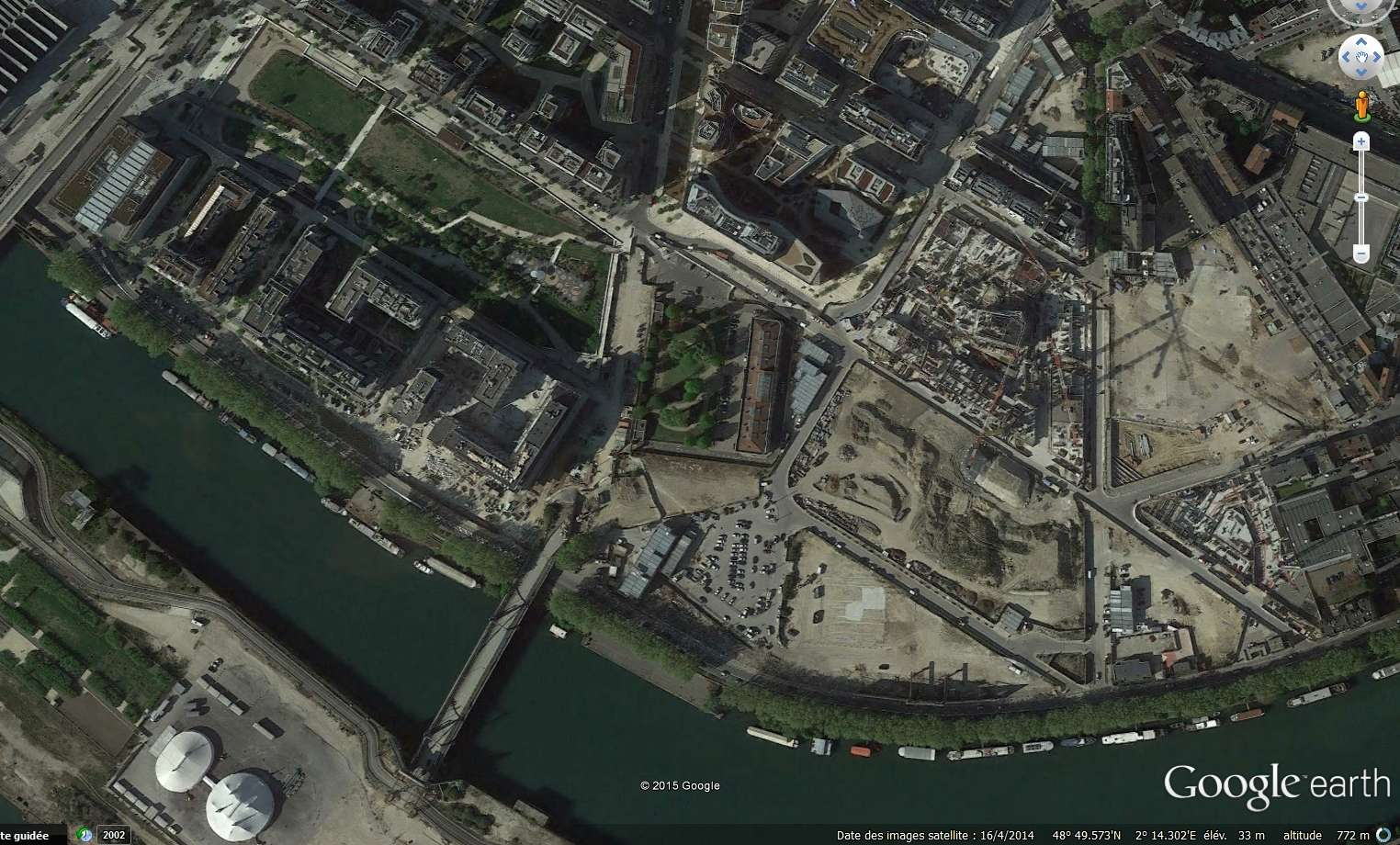 Images satellites et Streetview Clipbo19