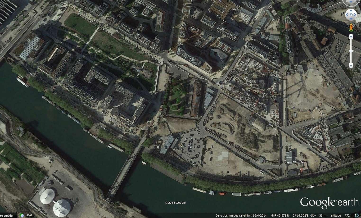 Images satellites et Streetview Clipbo19