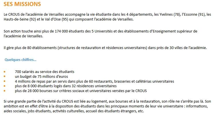 Informations sur la résidence étudiante Simone Weil  Clipbo21