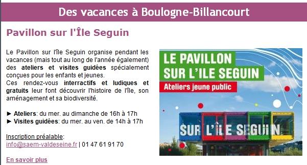 Pavillon d'informations de la SAEM / SPL sur l'île Seguin (et le trapèze) Pavill10
