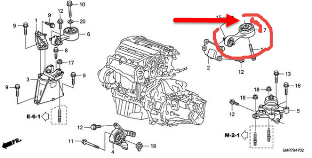 Honda Civic 2007 LX, vibration et bruit de ronronnement à l'alternateur ? Civic10