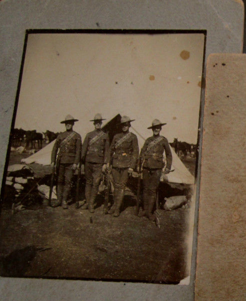 Boer War Canadian Stetson-Named _20_310