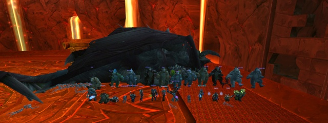 Paragon : World First avec Nefarian en raid 25 héroïque 3410