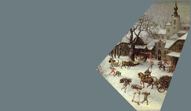 The Art History Mystery Challenge No.41 Lucas Van Valckenborch - Winterscene Ahm-wi12