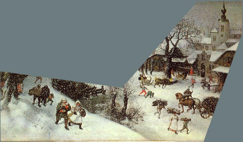 The Art History Mystery Challenge No.41 Lucas Van Valckenborch - Winterscene Ahm-wi13