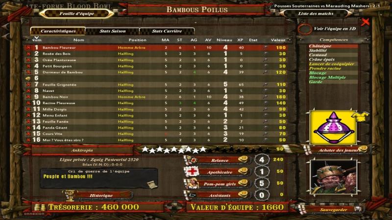 Le retour des Bambous Poilus, histoire de ou histoire pour des couronnes ? Bloodb12