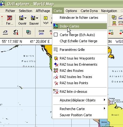 Tag index sur Tout sur OziExplorer - PC - CE - Androïd Index112