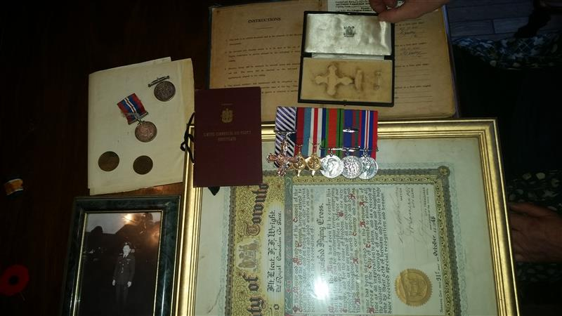 ww2 and Ww1 medals Overal10
