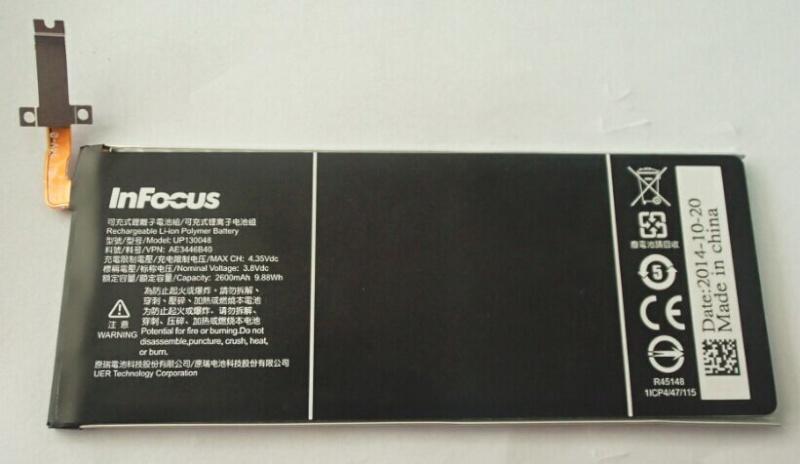 Infocus M810 Battery UP130048 AE3446B40 113