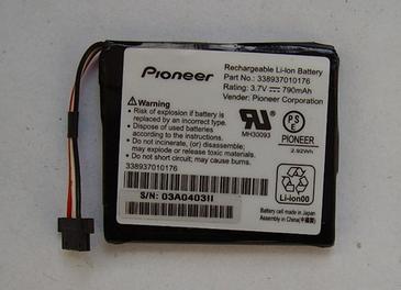 Pioneer AVIC-F320BT Battery 338937010176 114