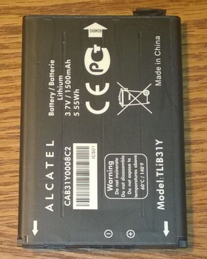 Alcatel One Touch 955 Battery TLiB31Y A13