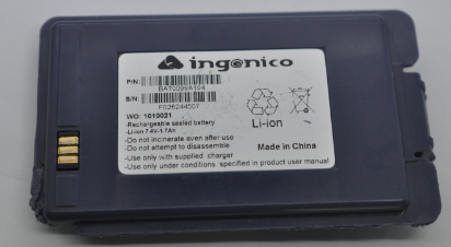 Ingenico I8200 I8550 I8500 GPRS Battery  F026244507 BAT0099A104 Image010
