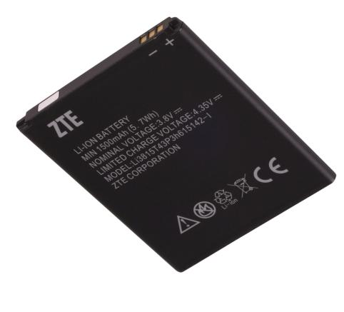 ZTE Z667, Zinger, Prelude 2 Battery LI3815T43P3H615142-I ML-ZT022 Ml-zt010