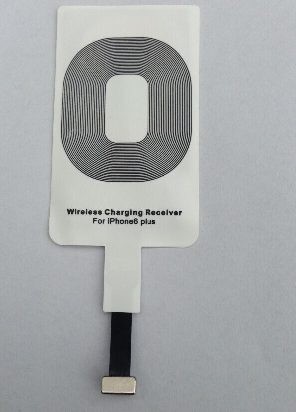 Qi wireless charging receiver for iPhone 6 Plus Wsr-ip11