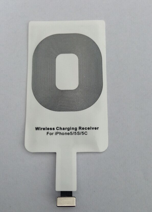 Qi wireless charging receiver for iPhone 5S  Wsr-ip12