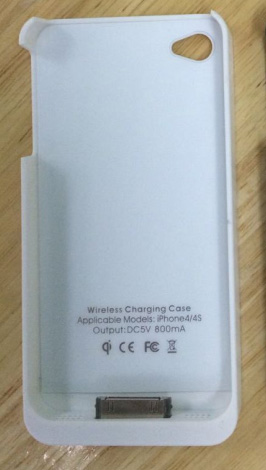 Wireless Charging Case for iPhone 4 WSRC-IP4 Wsrc-i10
