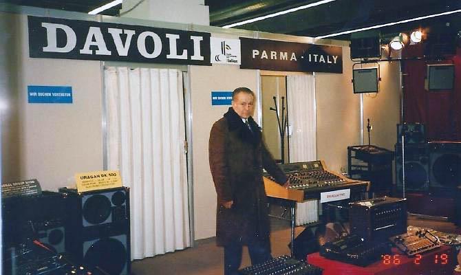 È morto Athos Davoli, il genio degli amplificatori italiani Athos-11