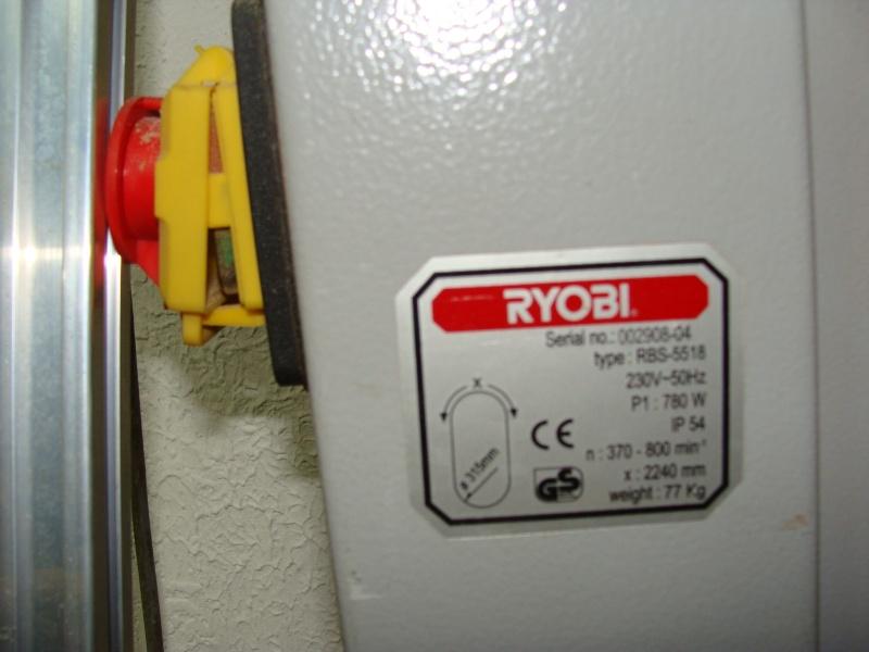 Scie à ruban RYOBI modele RBS-5518.  Dsc01121