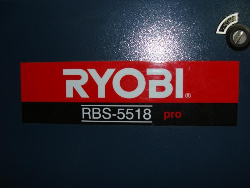 Scie à ruban RYOBI modele RBS-5518.  Dsc01122