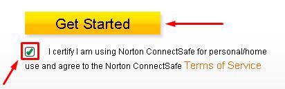 طريقة منع المواقع الفاسدة بدون برامج عن طريق موقع Norton ConnectSafe  210