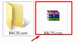 كيفية ضغط مجلد لرفعه على النت Screen15