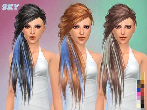 Женские прически (длинные волосы) - Страница 4 Image149
