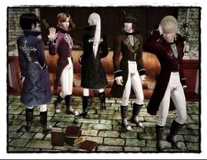 Старинные наряды, костюмы - Страница 3 Image362