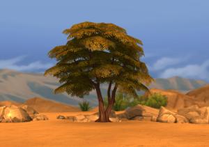 Растительность (кусты, деревья, камни) Image382
