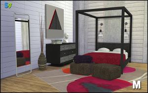 Спальни, кровати (модерн) Image647