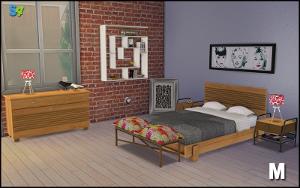 Спальни, кровати (модерн) Image648