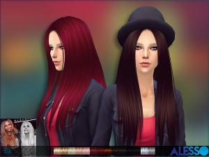 Женские прически (длинные волосы) - Страница 5 Image746