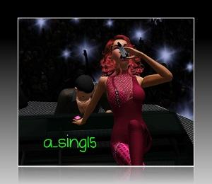 Танцевальные позы, пение - Страница 4 Light159