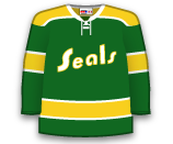 California Golden Seals 61610