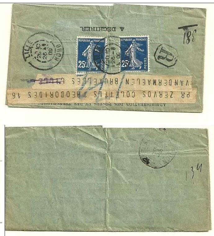 Télégramme pour l'étranger Tzolzo11